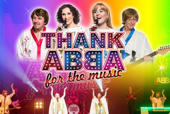 Thank Abba For The Music - Title Screen