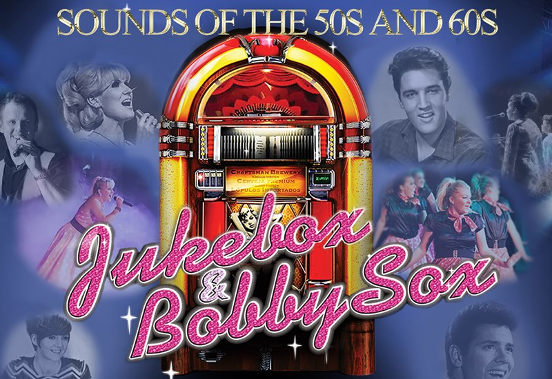 Jukebox & Bobby Sox Poster