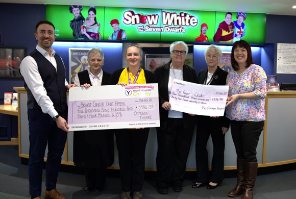 Over £10,000 Raised For Local Charities